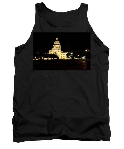 Texas State Capitol Tank Top by Dave Files