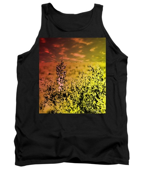 Texas Yucca Flower Tank Top
