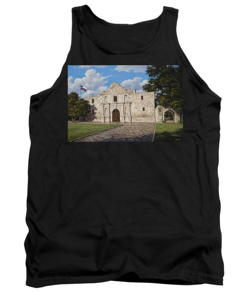 Tank Top featuring the painting The Alamo by Kyle Wood