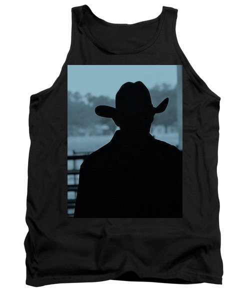 Tank Top featuring the photograph The American Cowboy by John Glass