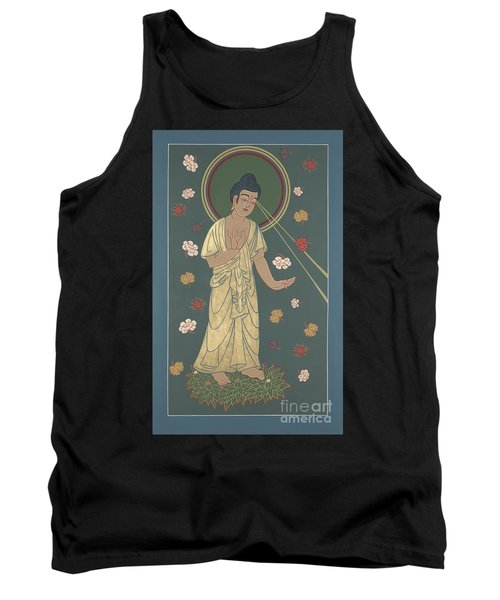 The Amitabha Buddha Descending 247 Tank Top by William Hart McNichols