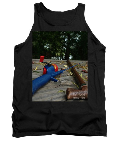 The Anglers Tank Top by Peter Piatt