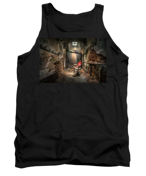 The Barber's Chair -the Demon Barber Tank Top