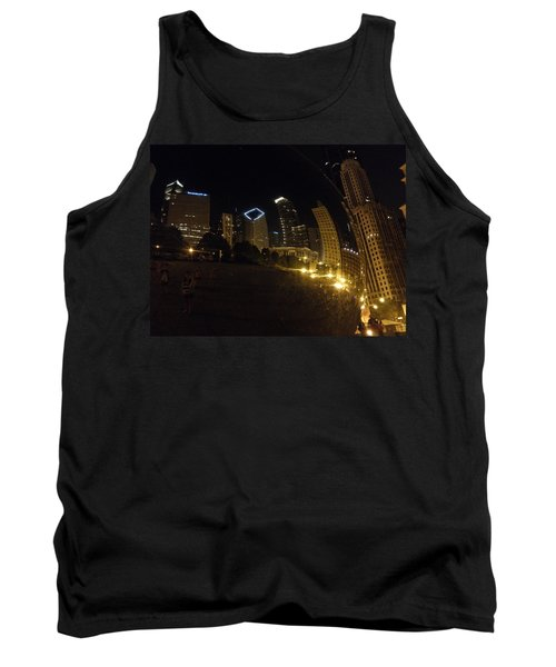 Tank Top featuring the photograph The Bean by Tiffany Erdman