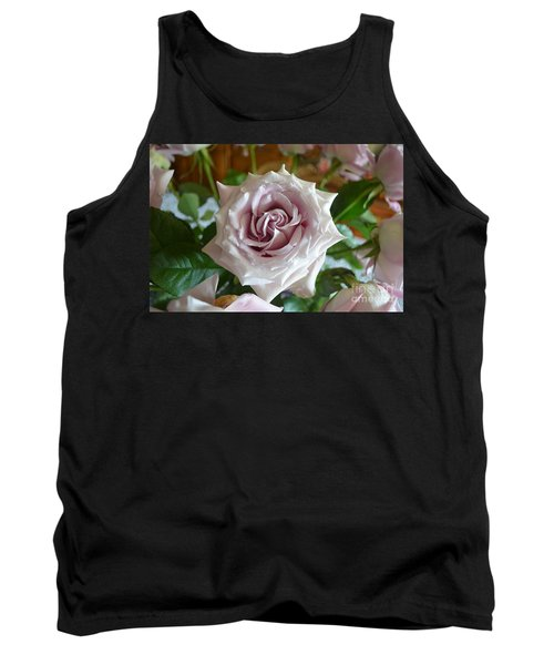 The Beauty Of A Flower Tank Top by Jim Fitzpatrick