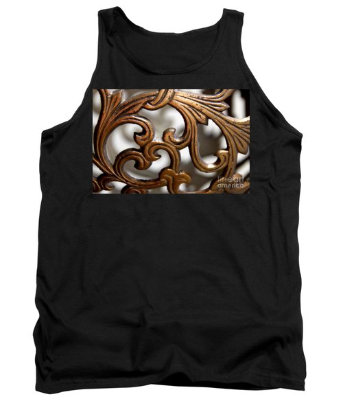 The Beauty Of Brass Scrolls 1 Tank Top