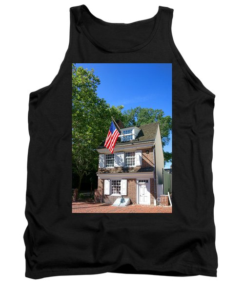 The Betsy Ross House Tank Top