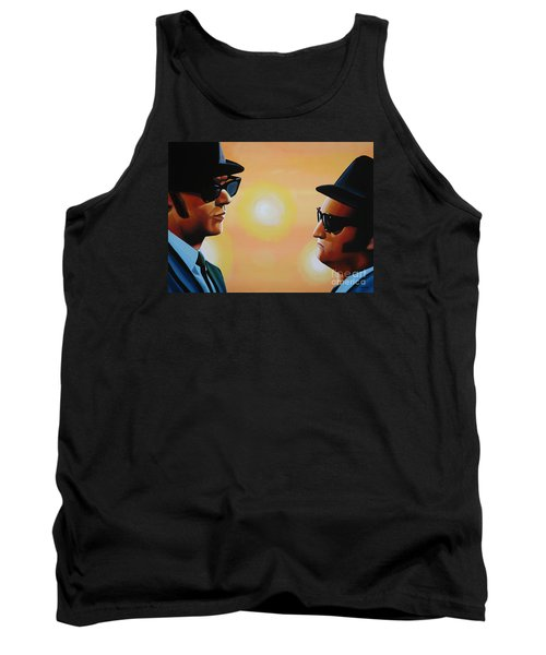 The Blues Brothers Tank Top by Paul Meijering