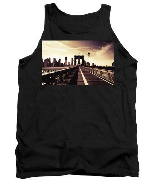 The Brooklyn Bridge - New York City Tank Top