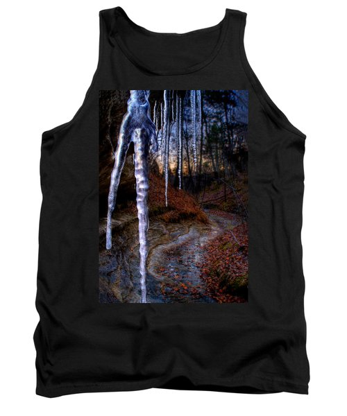 The Cave Of The Crystal Daggers Tank Top