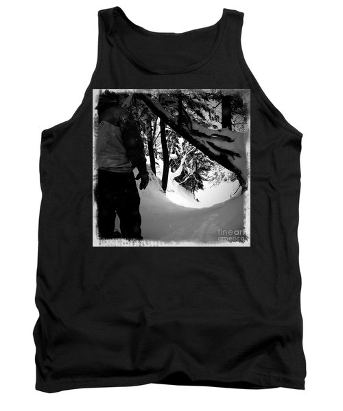 Tank Top featuring the photograph The Chute by James Aiken