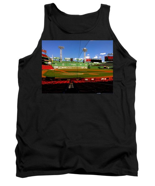Tank Top featuring the photograph The Classic  Fenway Park by Iconic Images Art Gallery David Pucciarelli