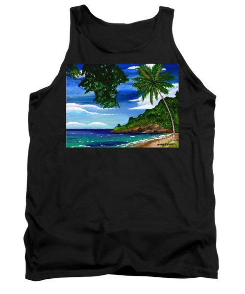 The Coconut Tree Tank Top
