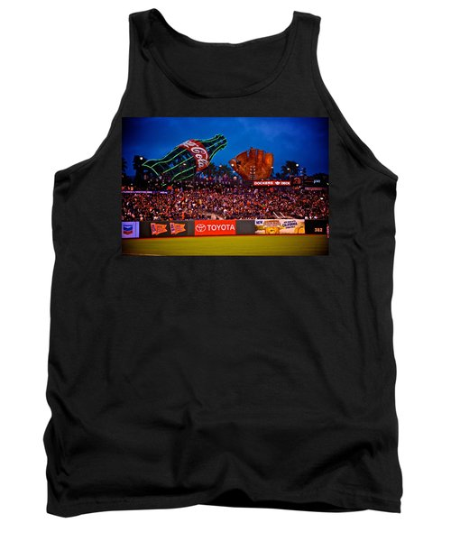 The Coke And Glove Tank Top