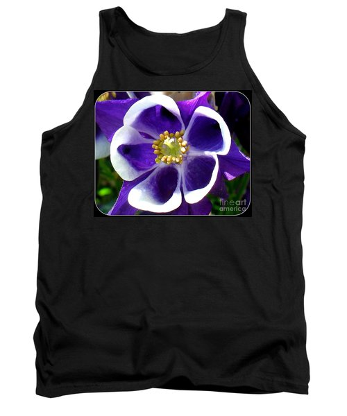 The Columbine Flower Tank Top by Patti Whitten