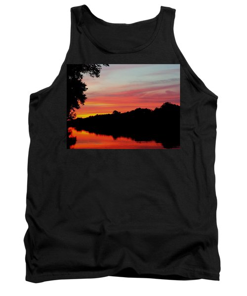 The Cumberland At Sunset Tank Top by Chris Tarpening