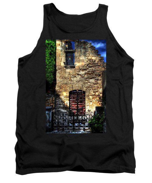 Tank Top featuring the photograph The Cypress And The Bell France by Tom Prendergast