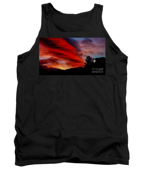 The Day Is Done Tank Top by Angela J Wright