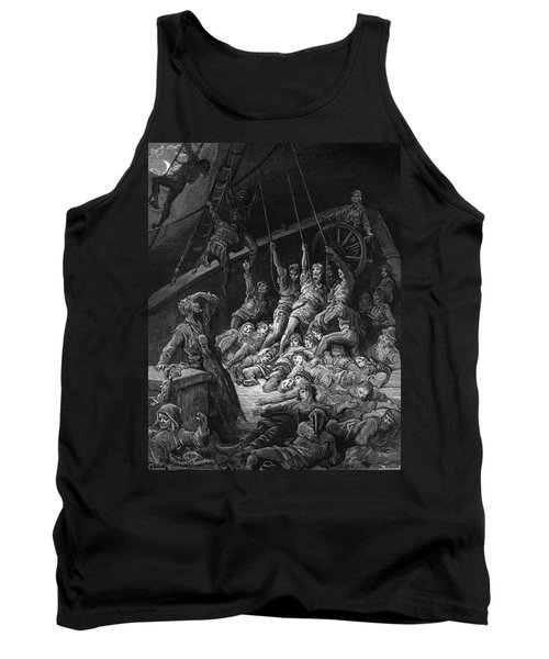 The Dead Sailors Rise Up And Start To Work The Ropes Of The Ship So That It Begins To Move Tank Top