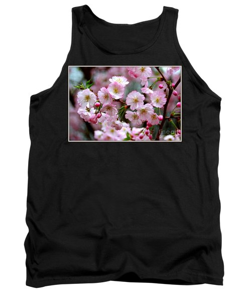 The Delicate Cherry Blossoms Tank Top by Patti Whitten