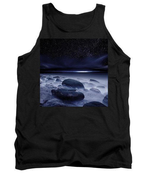 The Depths Of Forever Tank Top by Jorge Maia