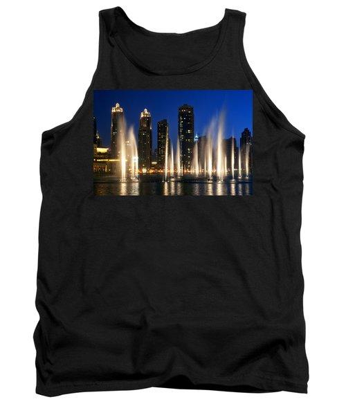 The Dubai Fountains Tank Top