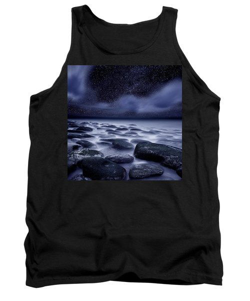 The Edge Of Forever Tank Top by Jorge Maia