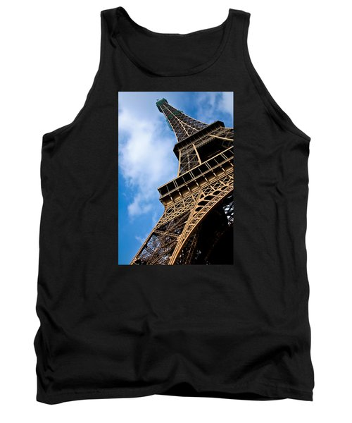 The Eiffel Tower From Below Tank Top