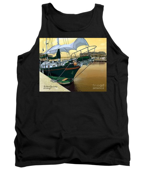 The Enola At Paris Landing Tank Top