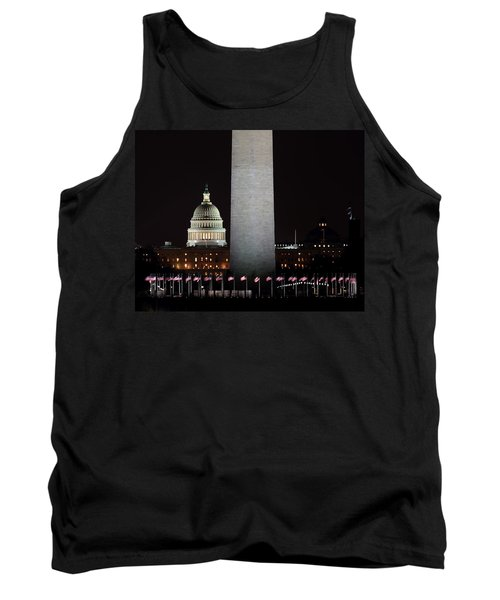 The Essence Of Washington At Night Tank Top