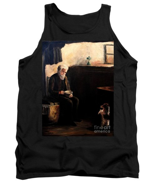 The Evening Meal Tank Top by Hazel Holland