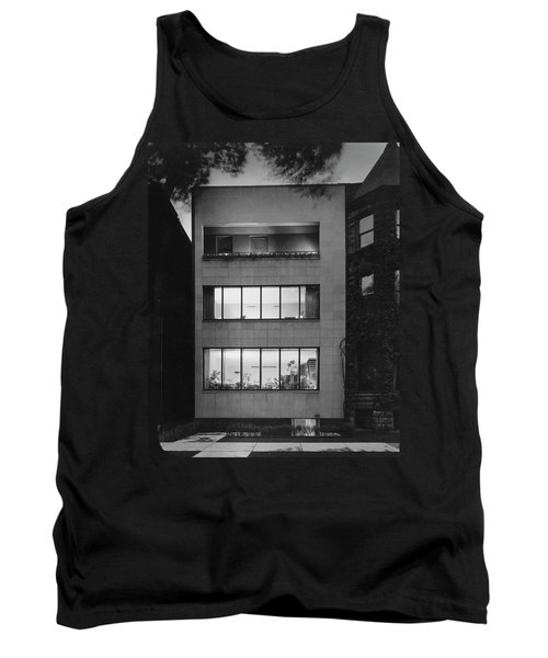 The Exterior Of A Modern Townhouse Tank Top
