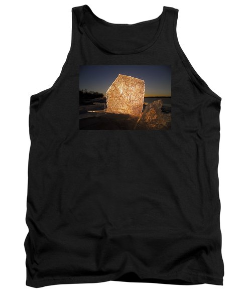 Tank Top featuring the photograph The First Ice ... by Juergen Weiss