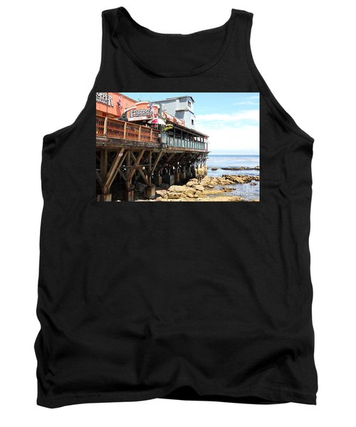 The Fish Hopper Restaurant And Monterey Bay On Monterey Cannery Row California 5d25047 Tank Top