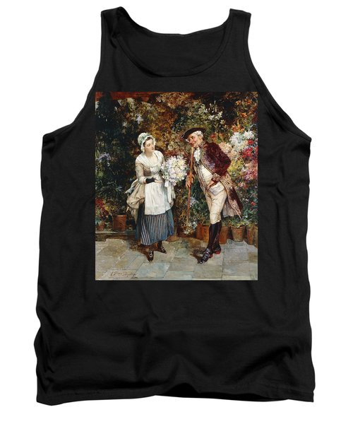The Flower Girl Tank Top