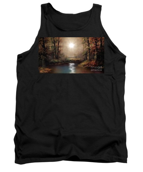 Sunrise Forest  Tank Top by Michael Rucker