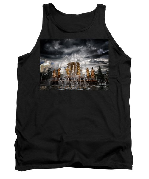 The Friendship Fountain Moscow Tank Top