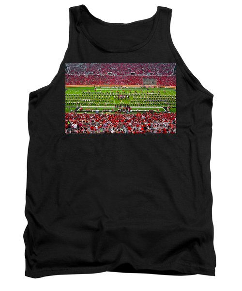 Tank Top featuring the photograph The Going Band From Raiderland by Mae Wertz