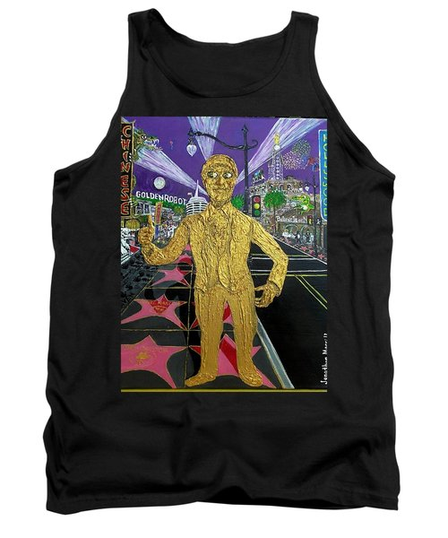 The Golden Robot Tank Top