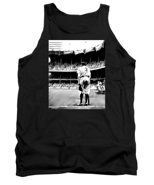 The Greatest Of All  Babe Ruth Tank Top by Iconic Images Art Gallery David Pucciarelli