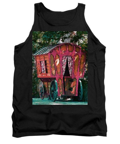 The Gypsy Caravan  Tank Top by Steve Taylor