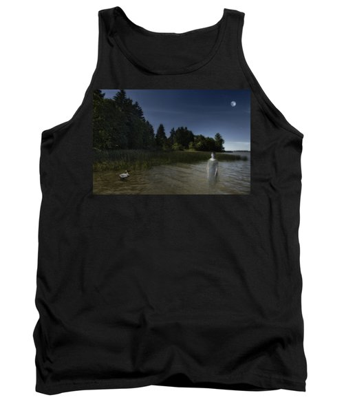 Tank Top featuring the photograph The Haunting by Belinda Greb