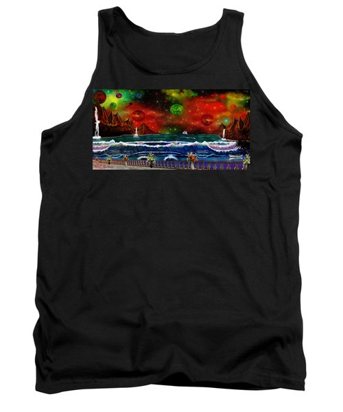 The Heavens Tank Top by Michael Rucker