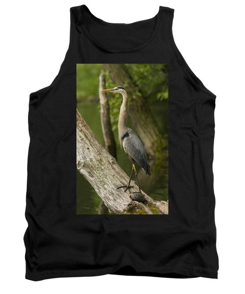 The Heron And The Turtle Tank Top