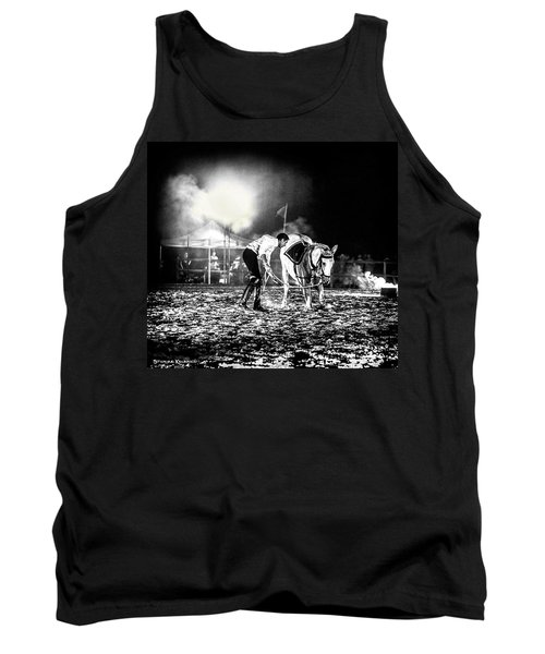 Tank Top featuring the photograph The Horse That Suffered  by Stwayne Keubrick
