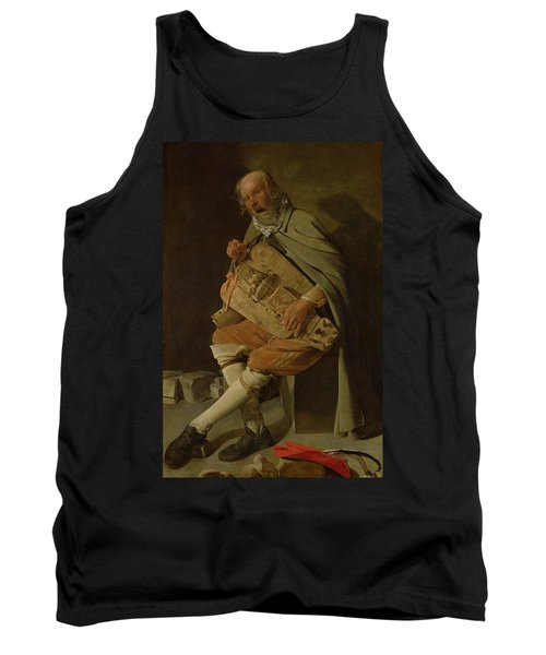 The Hurdy Gurdy Player Tank Top