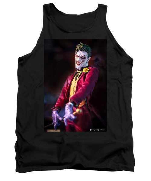 Tank Top featuring the photograph The Joker Dummy by Stwayne Keubrick