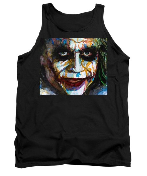 The Joker - Ledger Tank Top by Laur Iduc