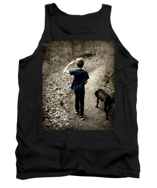 The Journey Together Tank Top by Bruce Carpenter