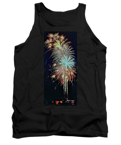 Tank Top featuring the photograph The Last Shot... by Daniel Thompson